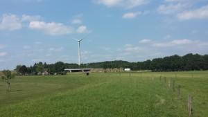 Windturbine A1 bij Epse kant